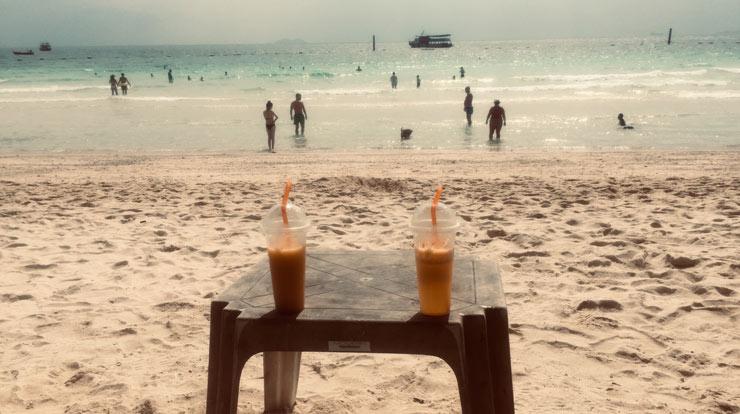 Аренда шезлонга на острове Ко-Лан