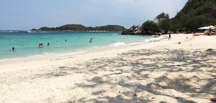 Один из пляжей острова КоЛан
