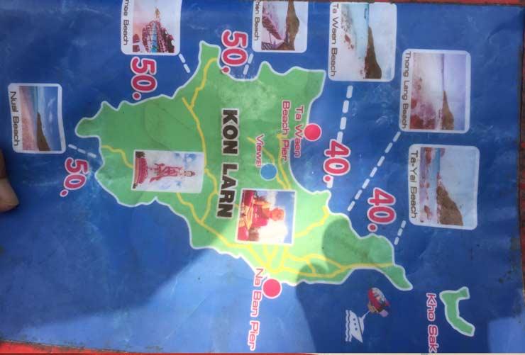 Пляжи острова Колан