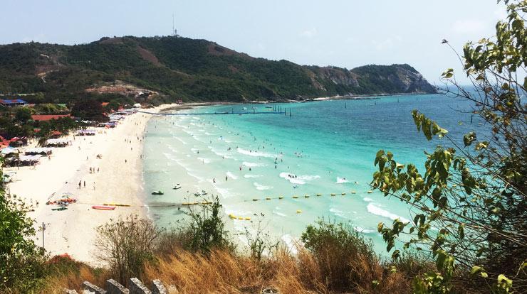 Смотровая площадка на пляже Ко Лан