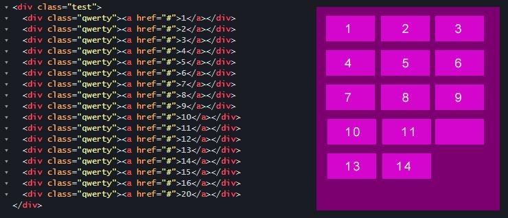Как отследить перенос строк в браузере и обернуть их в div на чистом JS